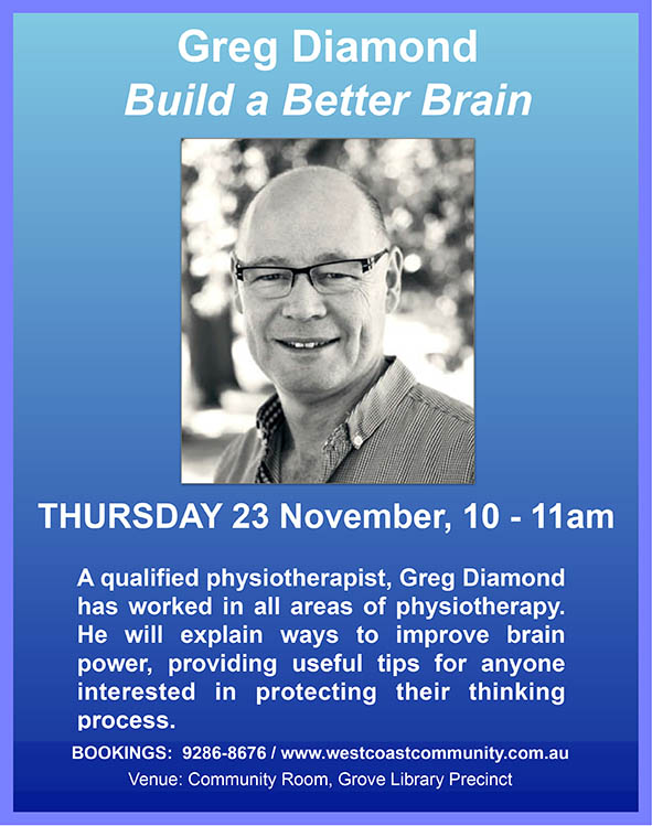 11 23 2017 Greg Diamond Build a Better Brain